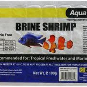 Aquaone Brine Shrimp 100g 10Pack