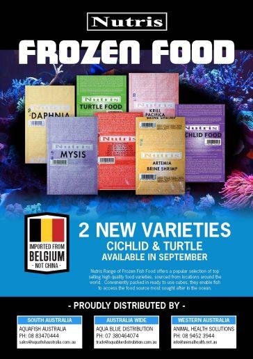 Nutris frozen food range